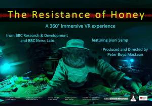 The Resistance Of Honey - 360 VR Video