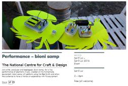 Bioni Samp - Performance at NCCD